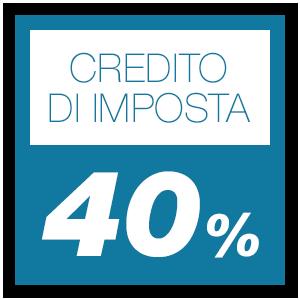Credito di imposta 40%