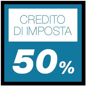 Credito di imposta 50%