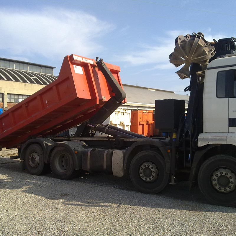 Truck Loader Roll On/Off